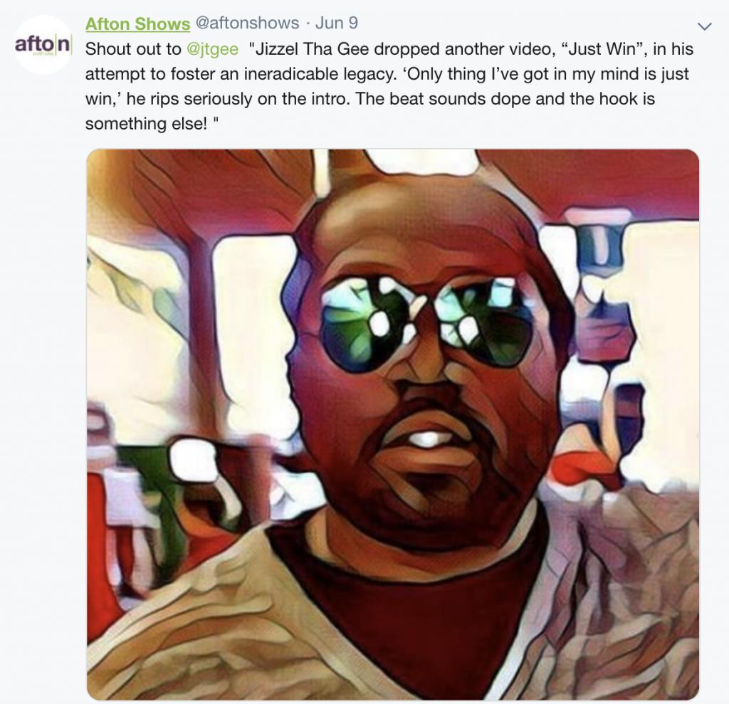 MyAfton Store Twitter Blast