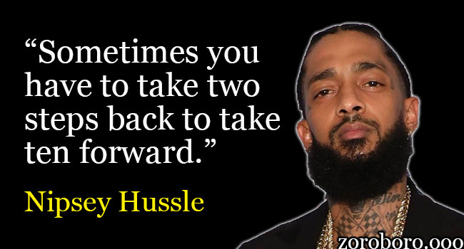 Afton Emerging Artist: Coo$e Nipsey Hussle Quote