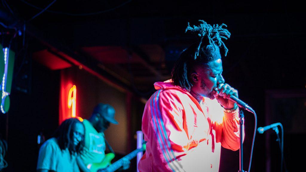 Afton Emerging Artist: Black Pat