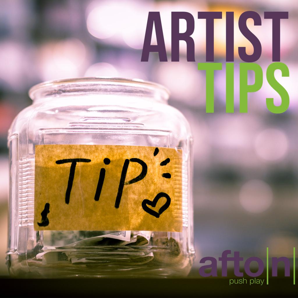 Myafton Afton Artist Tips 2