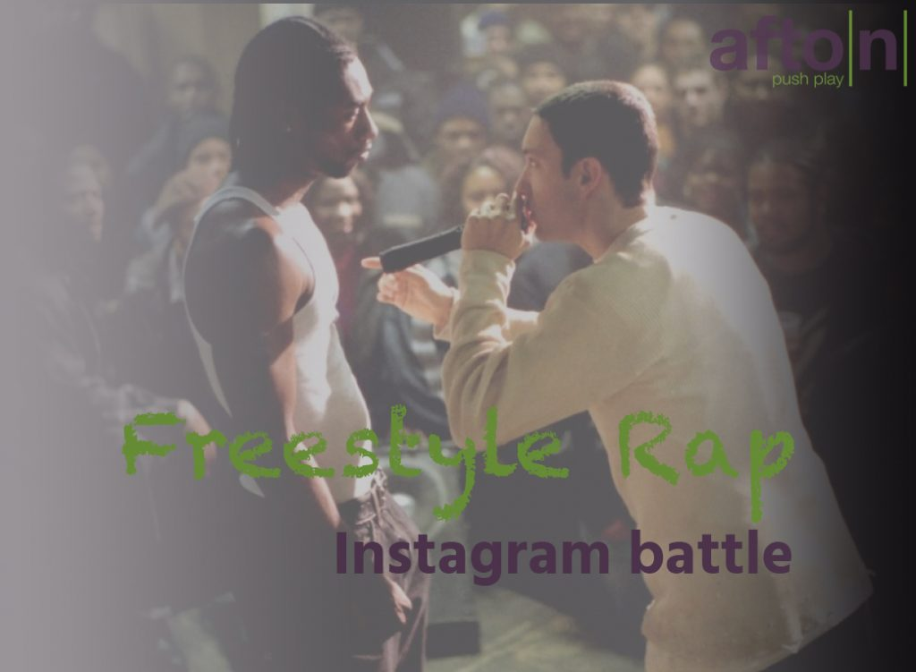 Afton Contest: Freestyle Rap Instagram Battle