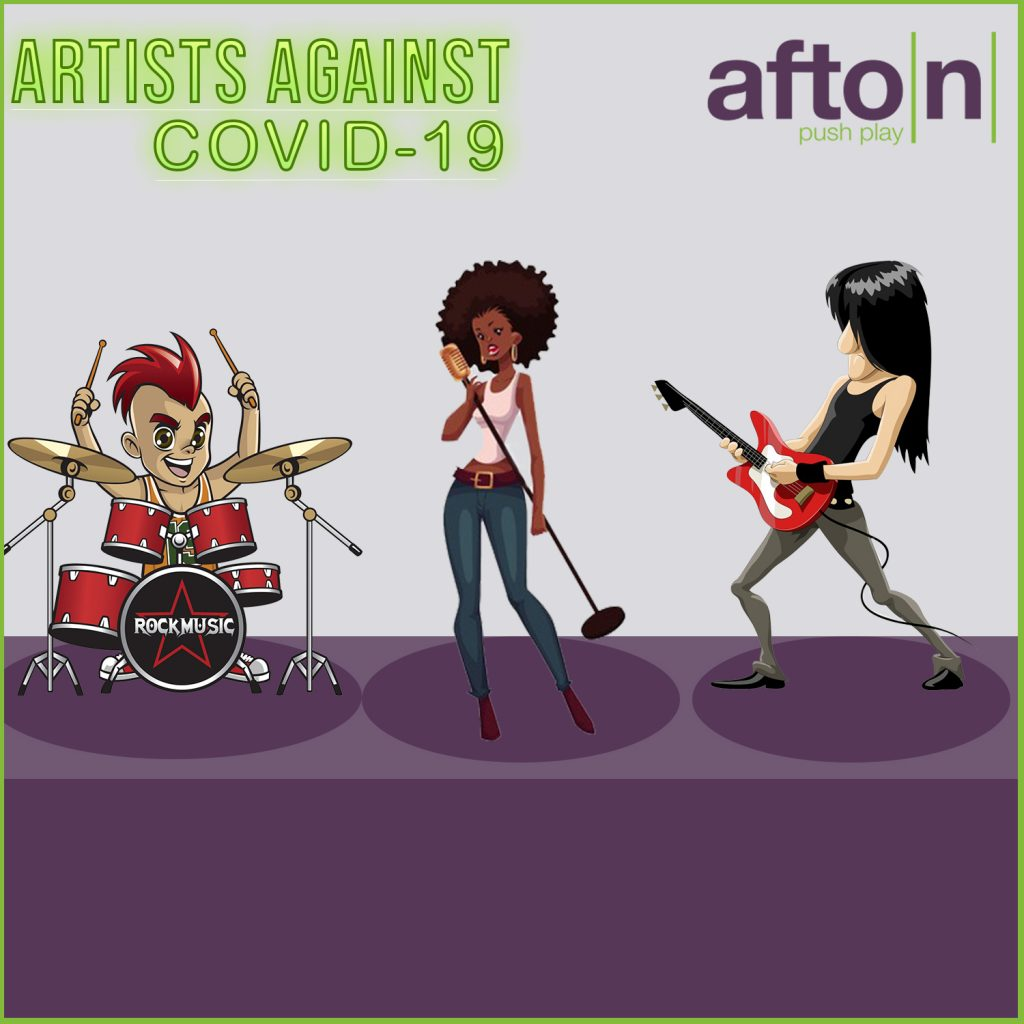 Myafton Artists Against Covid Mixtape Release