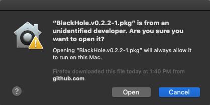 Myafton: Livestream Install BlackHole