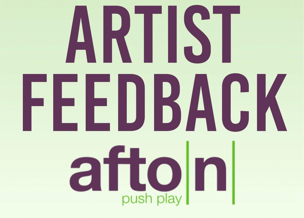 Myafton: Artist Feedback