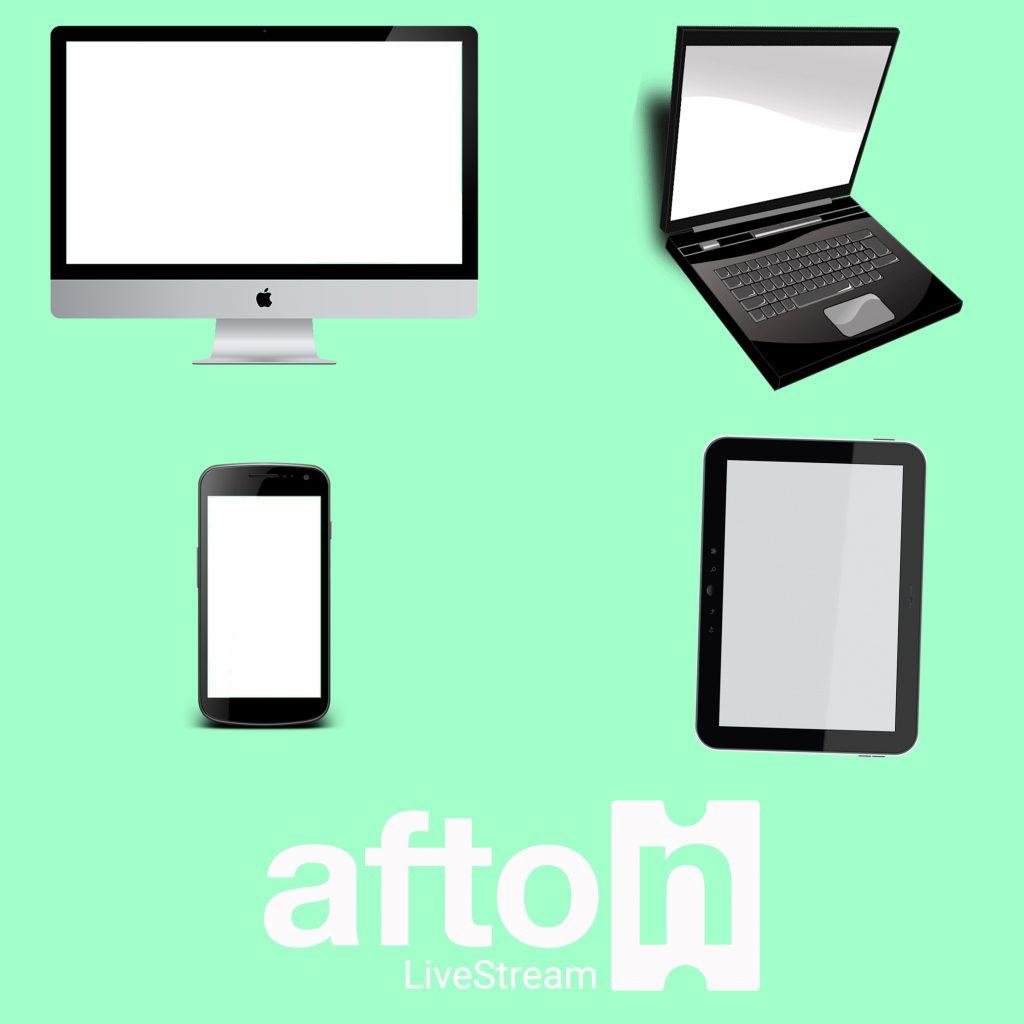 Myafton: LiveStream Using Any Device