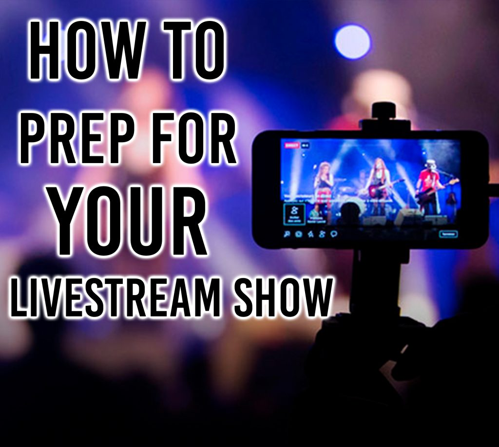 Myafton: how to prep for your LiveStream show